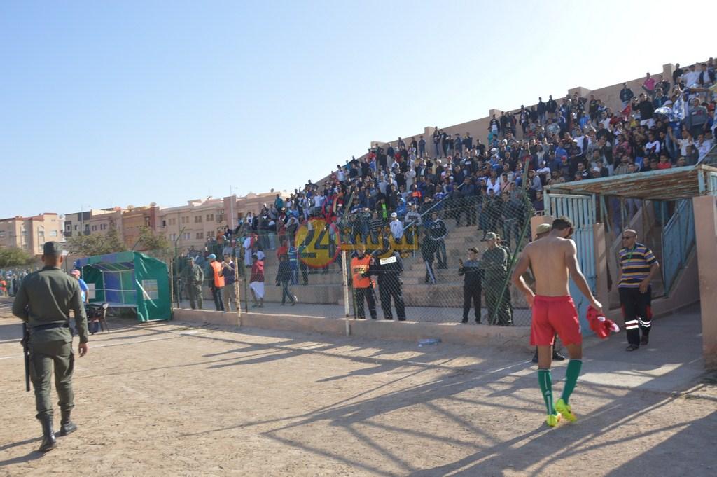 أمل تيزنيت لكرة القدم يشكر الجماهير وكل المساهمين في ضمان البقاء