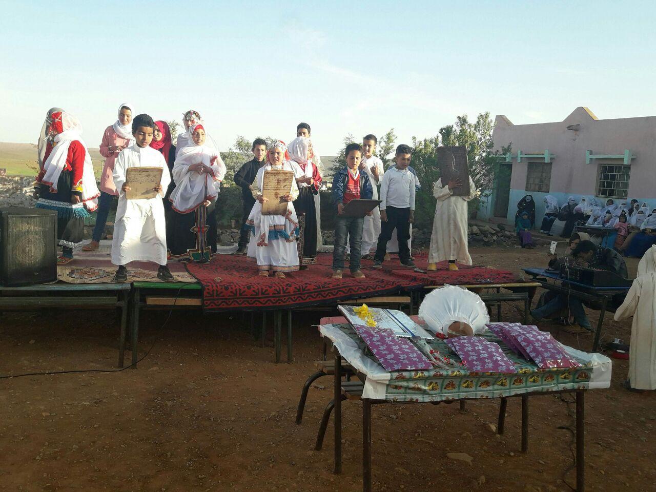 إختتام فعاليات الأيام الثقافية لفرعية ادمبارك مجموعة مدارس إبن زهر
