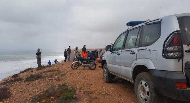 فقدان بحارة في سواحل سيدي افني