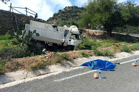 قتيل و7 جرحى في انقلاب سيارة شمال أكادير