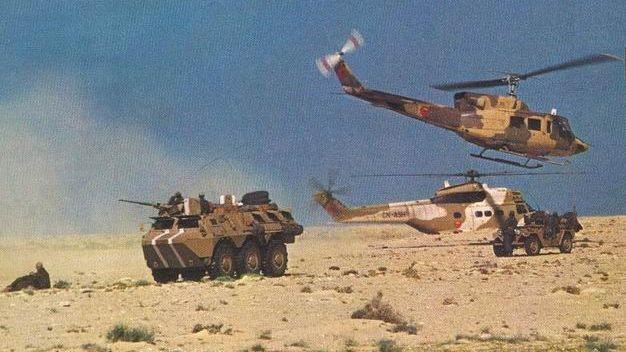 تعزيزات عسكرية ضخمة تزحف نحو الصحراء