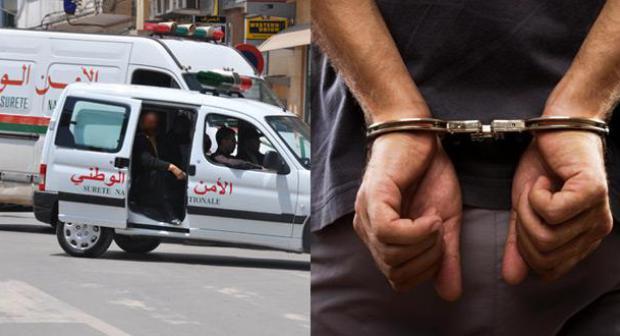 أمن تيزنيت يعتقل المشتبه فيه الثالث بارتكاب عمليات السرقة بالعنف وبالإعتداء على رجال الأمن