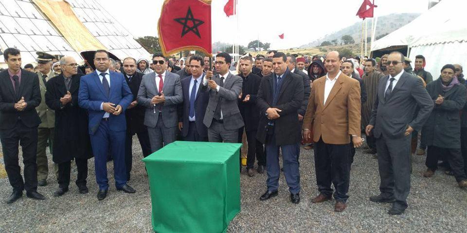 سيدي افني : عامل الاقليم يشرف على إعطاء انطلاقة أشغال بناء مقطع طرقي بجماعة سيدي امبارك