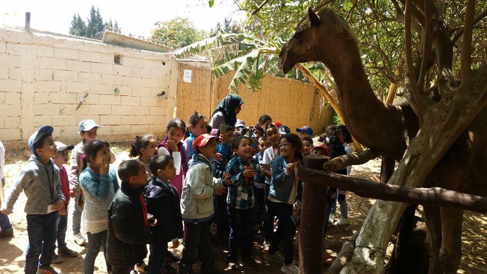 بالصور : رحلة ترفيهية لتلاميذ مؤسسة نور الفرقان الخاصة الى المنتجع السياحي والترفيهي berbere house