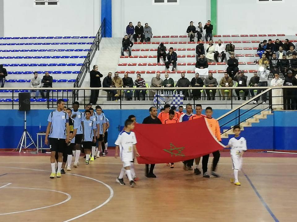انطلاق دوري الوفاء لكرة القدم بالقاعة المغطاة للرياضات أناروز