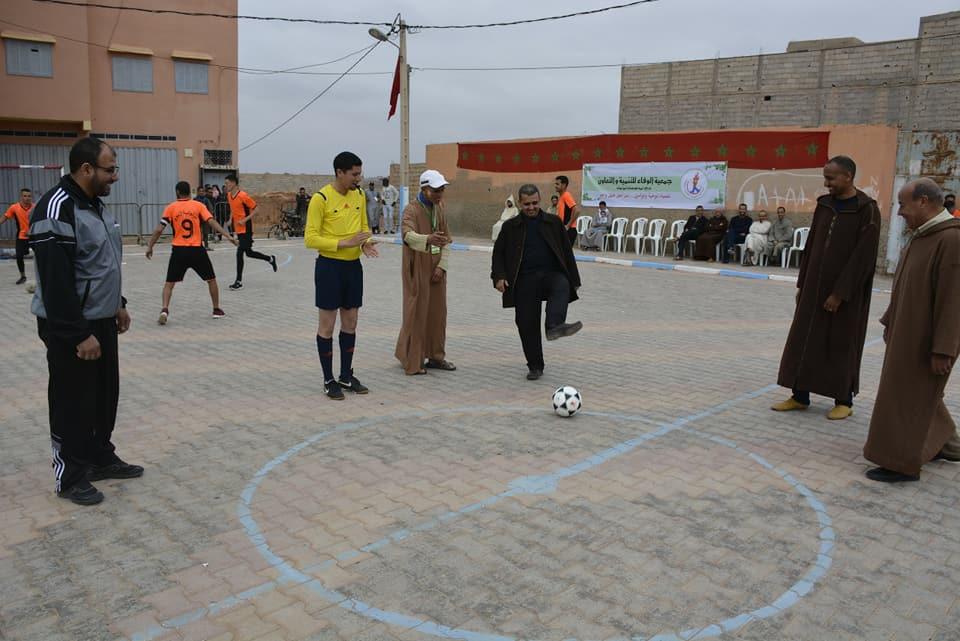 انطلاق النسخة 4 لدوري رمضان لكرة القدم المصغرة بحي تامدغوست
