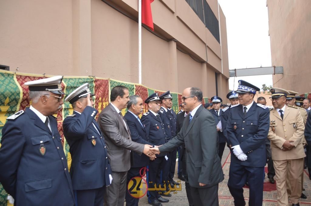 أسرة الأمن الوطني بتيزنيت تخلد الذكرى 62 لتأسيس الأمن الوطني