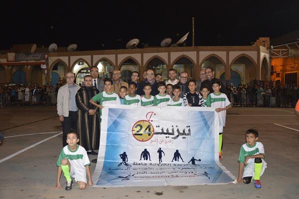 افتتاح الدورة 13 لدوري المرحوم محمد كوسعيد لكرة القدم المصغرة بساحة المشور