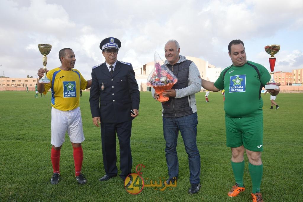 احتفاء رياضي بمناسبة الذكرى 62 لتأسيس الأمن الوطني