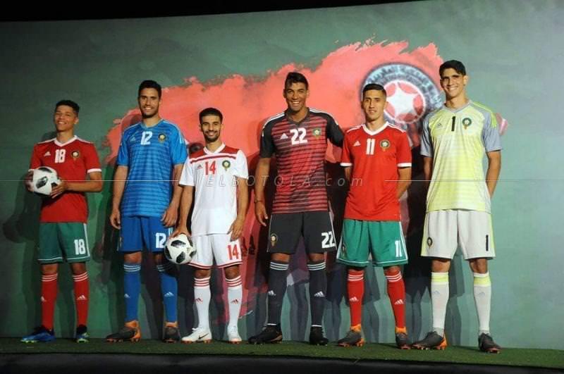 بالصور ..قمصان منتخب المغرب في مونديال 2018 بروسيا