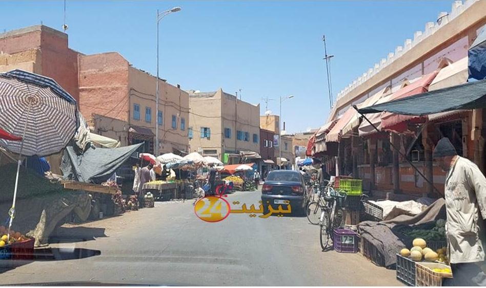 جرح امراة في سقوط سقيفة دكاكين بشارع سيدي عبد الرحمان