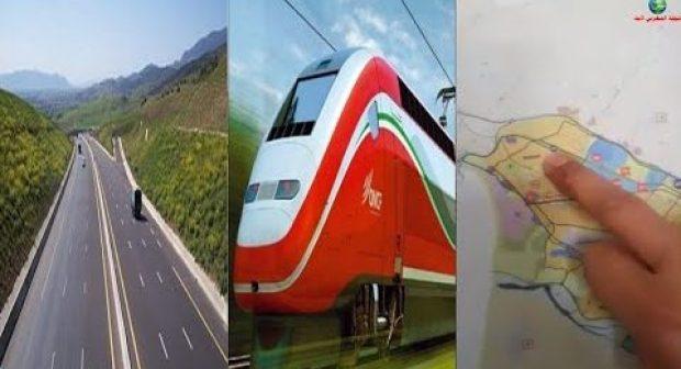 تفاصيل مشاريع القطار السريع الرابط بين مراكش أكادير و الطريق السيار أكادير- العيون