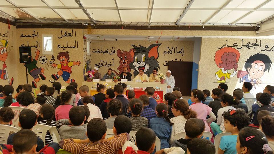 بالصور : المسابقة القرآنية لتلاميذ نور الفرقان بتيزنيت