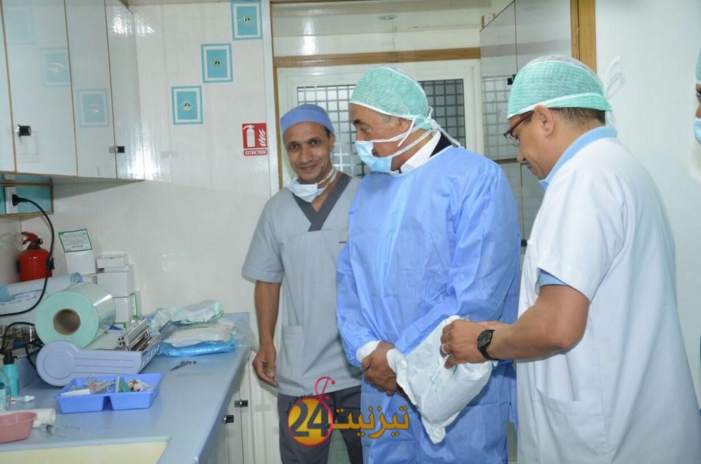 قافلة طبية جهوية تخصص طب العيون و طب النساء و التوليد تحل بتيزنيت