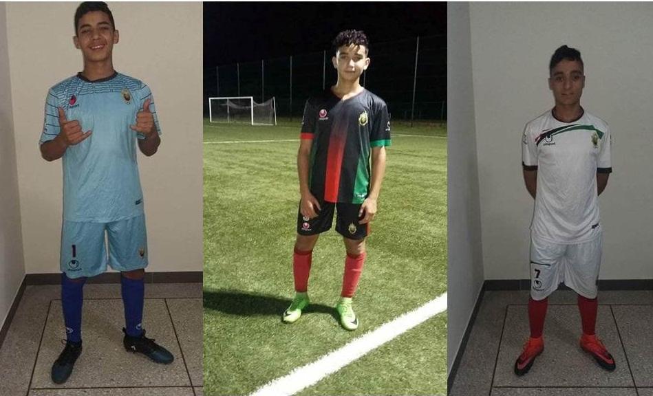 ثلاث لاعبين صغار من تيزنيت يلتحقون بأكاديمية الجيش الملكي لكرة القدم