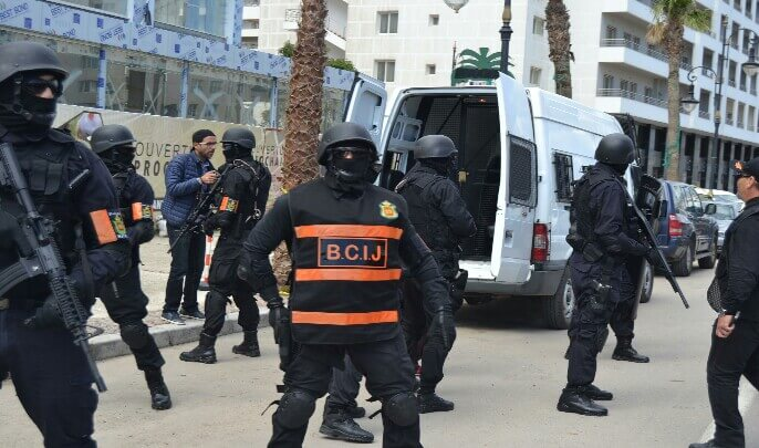 """الأمن يفكك خلية إرهابية موالية لـ""""داعش"""" في 3 مدن مغربية"""