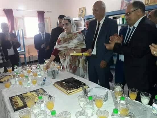 جمعية لكم تكرم محمد الصنهاجي الكاتب العام لعمالة تيزنيت و ادريس الشايب رئيس الدائرة