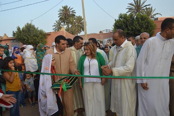 بالصور : افتتاح مهرجان الدلاح بجماعة ارسموكة في دورته الثالثة