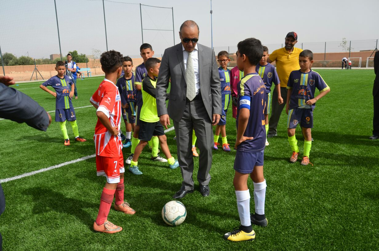 بالصور: انطلاق النسخة 2 للدوري الوطني اثران لكرة القدم