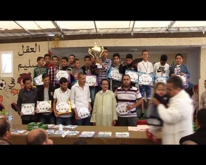 احتفال مؤسسة نور الفرقانبالمتفوقين والمتفوقات
