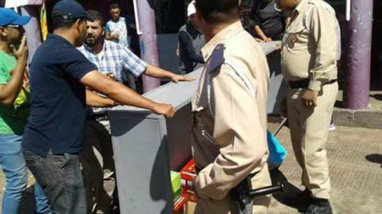 السلطات العمومية بانزكان تشن هجوما قويا على الباعة المتجولين