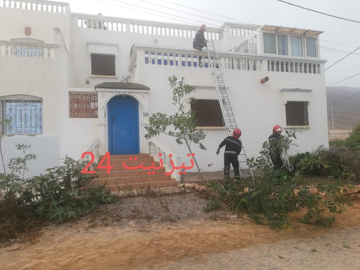 اصابة دركي بكسر في عملية اعتقال لص داخل منزل بشاطئ أكلو