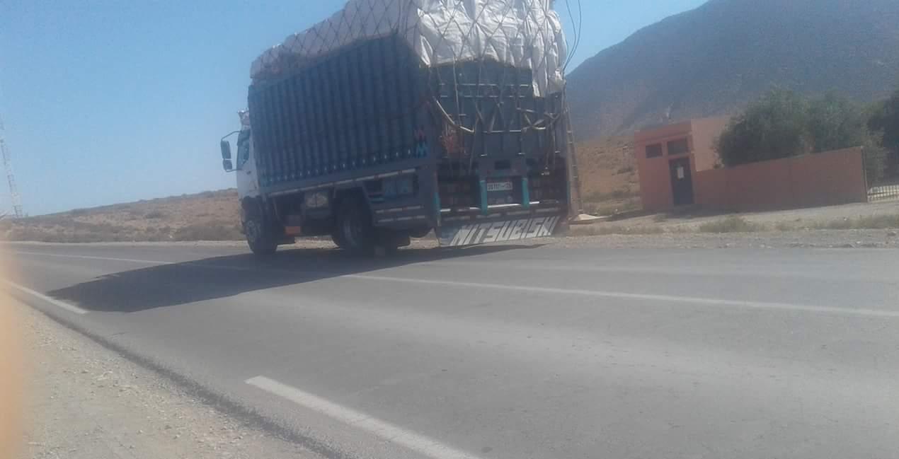 مصرع امرأة سبعينية في الطريق الوطنية بين تيزنيت و أولاد جرار