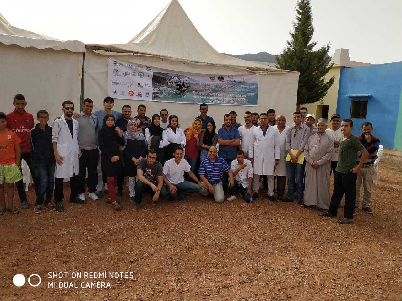 جمعية تيفاوت إفراد أربعاء الساحل تنظم حملة طبية  وحفل التفوق الدراسي لفائدة الساكنة
