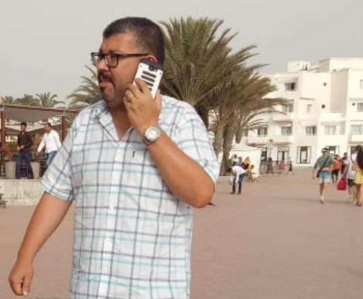 مراسل صحفي بايت ملول يتعرض لإعتداء شنيع.