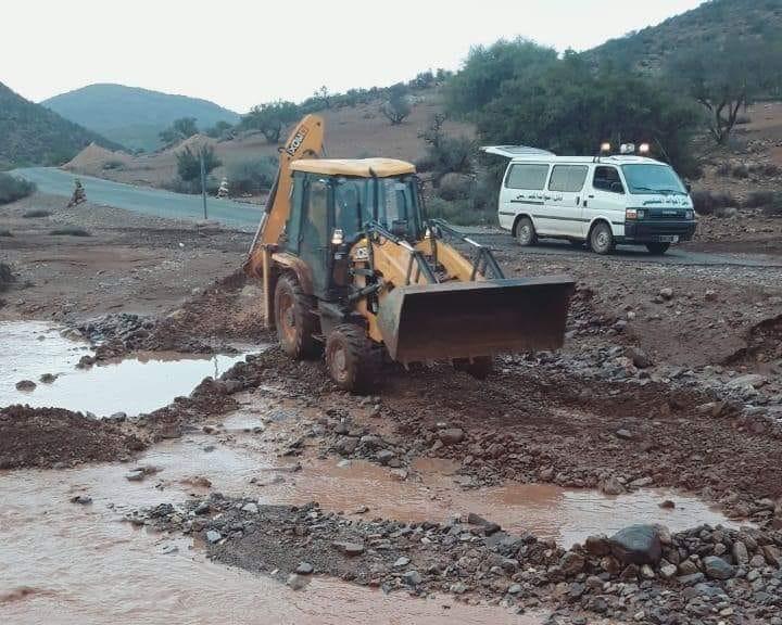 سيدي افني :  فيضانات تودي بحياة سيدتين و فقدان أخرى و خسائر مادية جسيمة