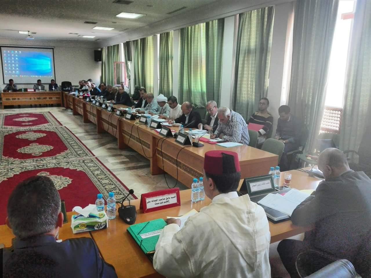 المجلس الاقليمي يصادق على احداث فضاء اقليمي للتخييم
