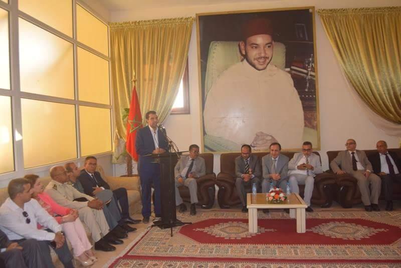 بالفيديو : حفل تكريم الاستاذ عبدالله وهبي بالمجلس الاقليمي