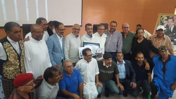 إفتتاح مهرجان تزنزارت بتكريم ثلاثة من روادها