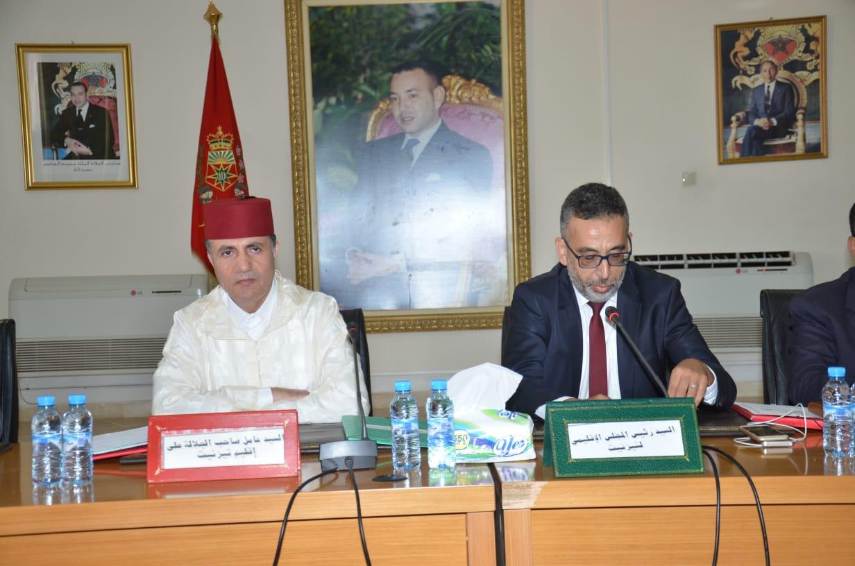 المجلس الاقليمي يستعرض منجزات مشاريع سلاسل الانتاج الفلاحي بالاقليم