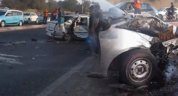 وفاة اسرة باعمرانية في حادثة سير بسيدي بيبي