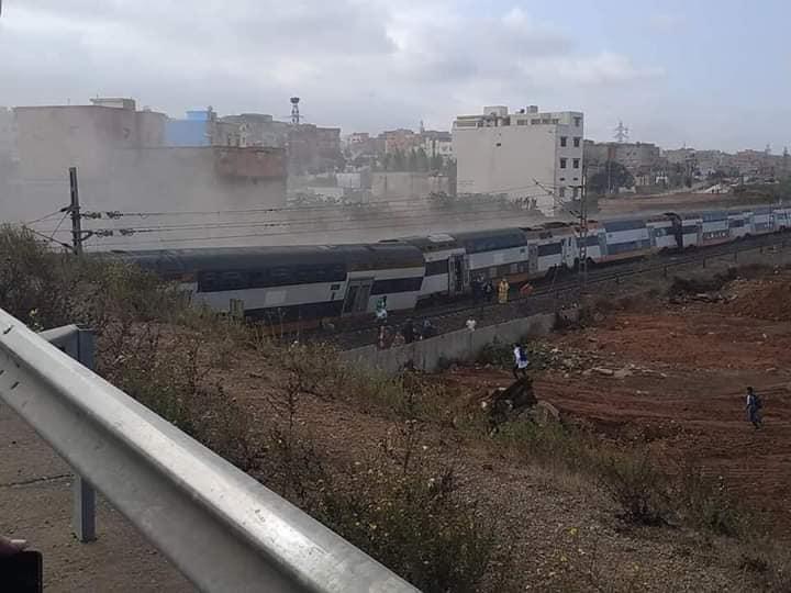 5 قتلى في فاجعة انقلاب قطار ببوقنادل