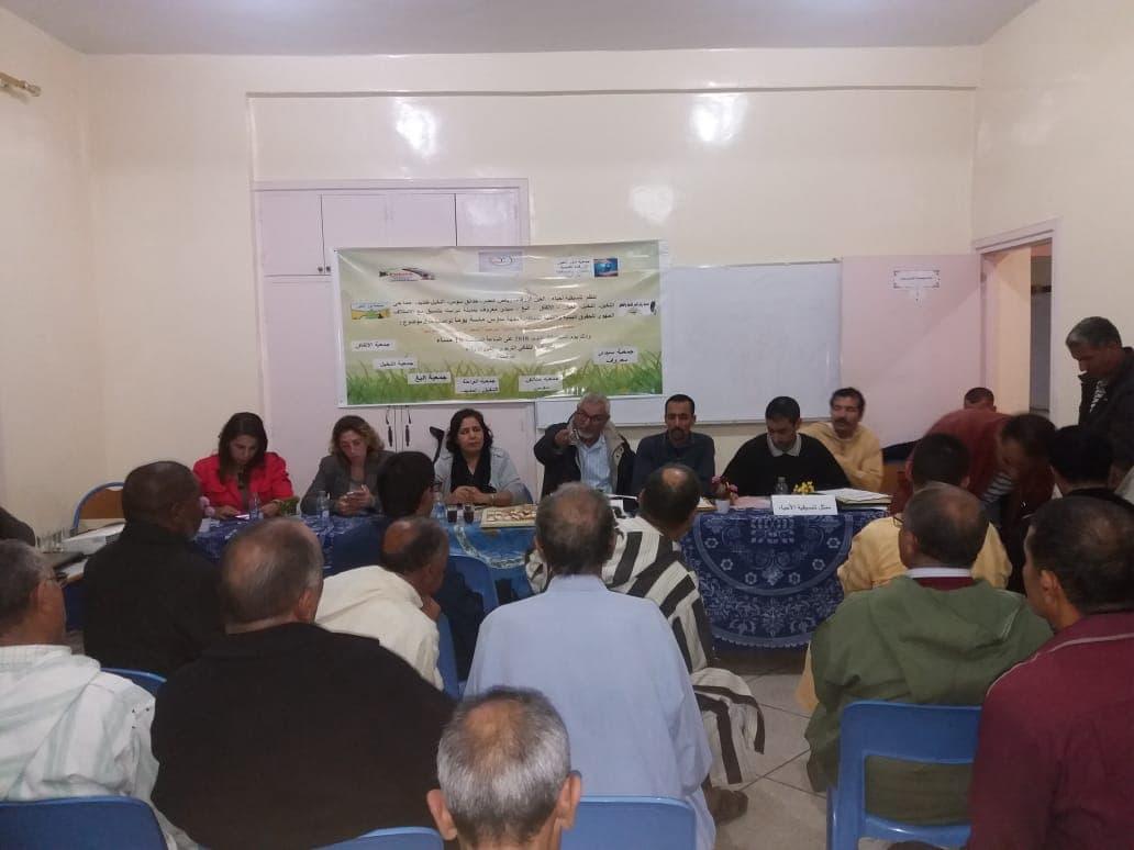 ائتلاف جمعوي بتيزنيت يقارب المطرح الجماعي في  القضايا و الاشكاليات البيئية