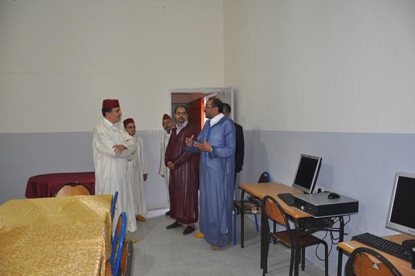 بالصور : المدرسة الحسنية العتيقة التابعة للمسجد الكبير في حلة جديدة