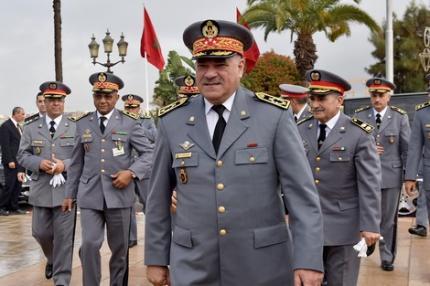 الجنرال حرمو يحيل جنرالات و 48 كولونيلاً على التقاعد و يعفي ضباطاً سامين