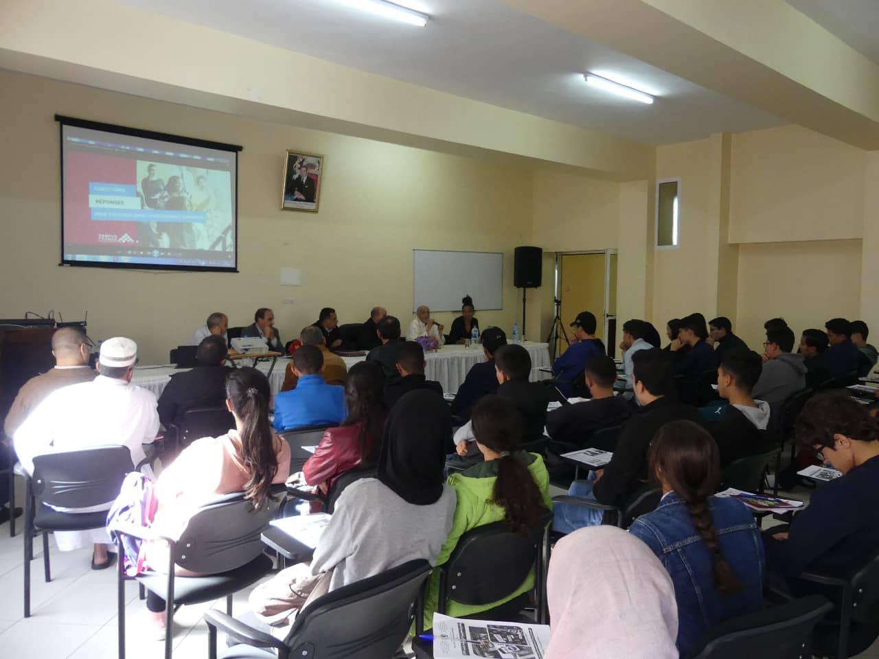 دورة تكوينية خاصة بالدراسة بفرنسا CAMPUS France لفائدة تلاميذ السنة الثانية باكلوريا