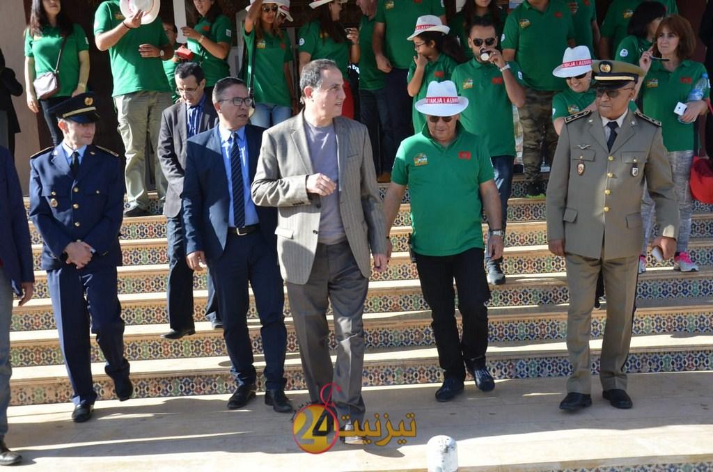 """عامل اقليم تيزنيت يستقبل فعاليات رالي السيارات """" طنجة الكويرة"""" + صور"""