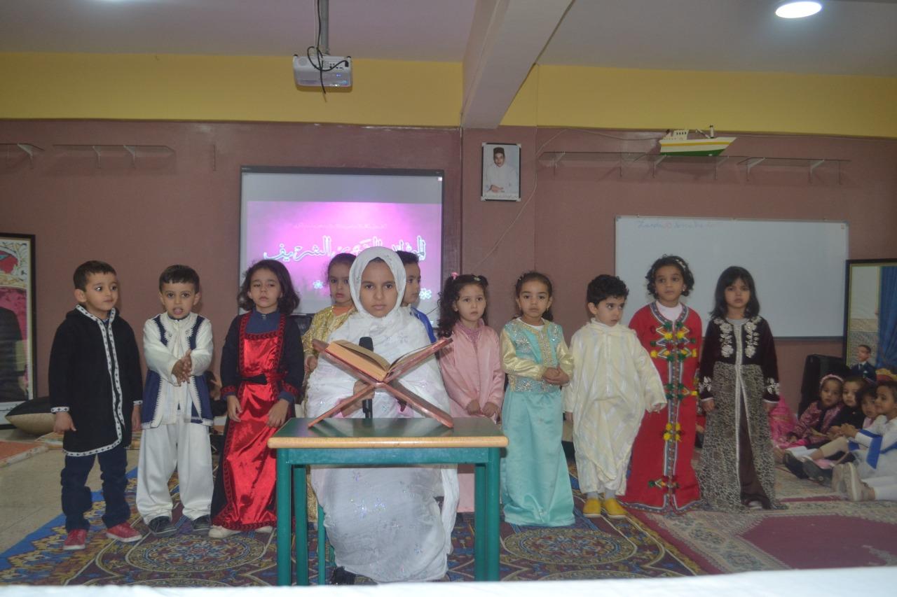 أنشطة وطنية و دينية بمؤسسة رياض العرفان بمناسبة عيد الاستقلال و عيد المولد النبوي