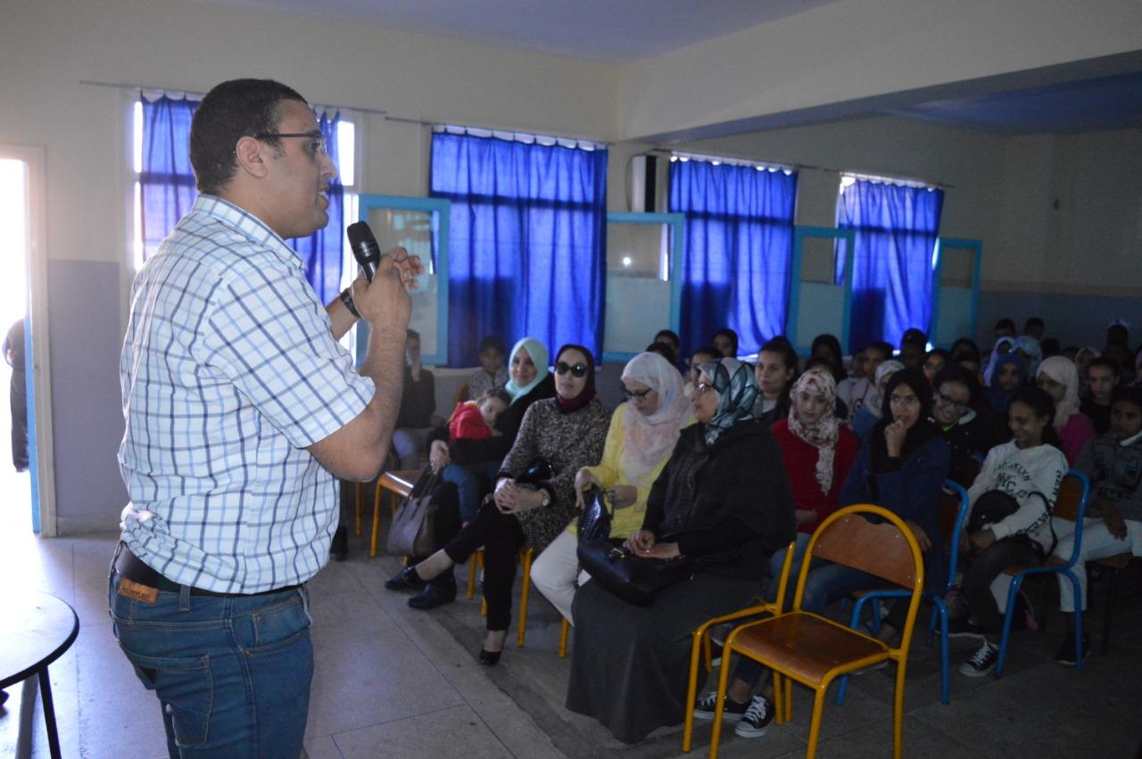 نادي السينما و المسرح بالثانوية الاعدادية مولاي سليمان ينظم أنشطة تربوية مختلفة
