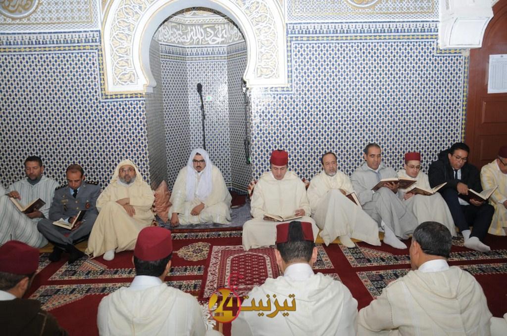 عامل اقليم تيزنيت يترأس حفل احياء ذكرى وفاة الحسن الثاني بمسجد السنة
