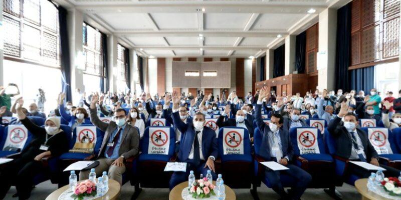 بالصور : لائحة النواب العشرة لرئيس جماعة أكادير