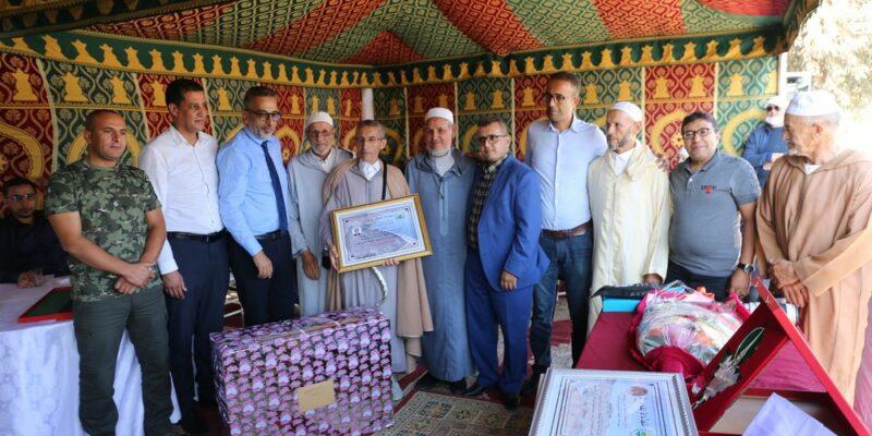 """بالصور تكريم """"حسن شويص"""" الرئيس السابق لجماعة أربعاء رسموكة"""